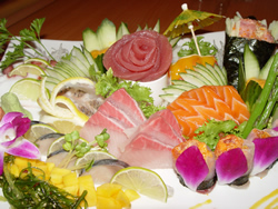 Close-Up Sashimi for Two plate